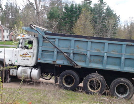 This Is A Photo Of An Excavation Plus Dump Truck, Excavation Plus, Monson Ma