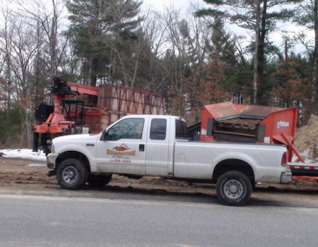 This Is A Photo Of An Excavation Plus Pickup Truck, Excavation Plus, Monson Ma